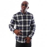 Carhartt WIP L/S Lessing Shirt I025230 blouse Lessing Check, Blue