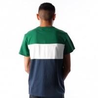 Afbeelding van Levi`s SS Colorblock Tee 56573-0001 T-Shirt Eden / Marshmallow / Dress Blues / Black Tekst