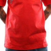 Afbeelding van Tommy Hilfiger TJM Collegiate Logo Tee DM0DM05569 T Shirt Flame Scarlet