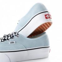 Afbeelding van Vans Ua Authentic Platform 2.0 Vn0A3Av8S1X Sneakers (Checkerboard Lace) Cool Blue/True White