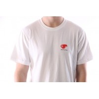 Afbeelding van Rib.Eye.Steak 17-RES-006 T-shirt Fast Meat Wit