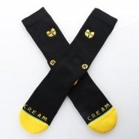 Afbeelding van Stance M556A18WUT Socks Wu-tang patch Zwart