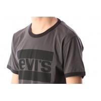 Afbeelding van Levi's 39980-0003 T-shirt Ringer Olympic logo ringer dark