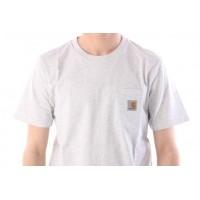 Afbeelding van Carhartt WIP I022091-48200 T-shirt Pocket Grijs