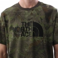Afbeelding van The North Face T92TX3-1TH T-shirt Easy Groen