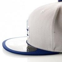 Afbeelding van New Era Diamond Era 10757139 Fitted Cap Grey/Royal MLB Los Angeles Dodgers