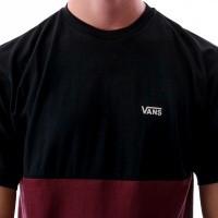 Afbeelding van Vans COLORBLOCK TEE VA3CZD5U8 t-shirt port royale/black