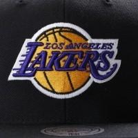 Afbeelding van Mitchell & Ness NL15Z Snapback cap Wool solid LA Lakers Zwart