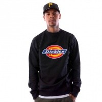 Dickies Harrison 02 200072 Crewneck Black