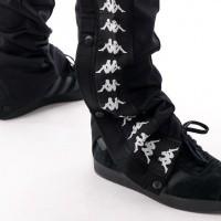 Afbeelding van Kappa Banda Astoria Snaps Slim 303KUE0 Trainingsbroek Black-Black