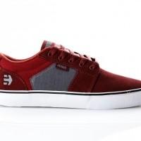 Etnies BARGE LS 4101000351 Sneakers RED/GREY 50