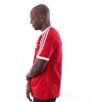 Afbeelding van Adidas 3-Stripes Tee Dv1565 T Shirt Power Red