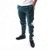 Kappa BANDA ASTORIA SLIM 301EFS0 Trainingsbroek Green DK-Beige-Black