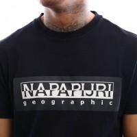 Afbeelding van Napapijri Sele N0YIEI176 T shirt Blue Marine