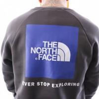 Afbeelding van The North Face M Raglan Redbox Crew T93RZ20C5 Crewneck Asphalt Grey
