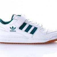 Afbeelding van Adidas Forum Lo AQ1261 Sneakers FTWRWHITE/COLLEGIATEGREEN/GUM2