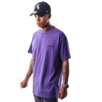 Afbeelding van Carhartt WIP S/S Script Embroidery T-Shirt I025778 T-shirt Frosted Viola / Black