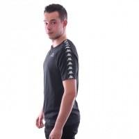 Afbeelding van Kappa Banda Coen Slim 303UV10 T shirt Black-Black
