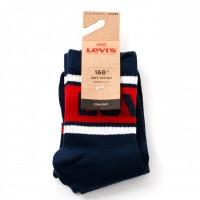 Afbeelding van Levi'S Bodywear Short Cut Shorty Sporty 993019001 Sokken Dark Blue Combo