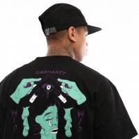 Afbeelding van Carhartt Wip S/S Wip Horror T-Shirt I026415 T Shirt Black