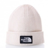 Afbeelding van The North Face TNF LOGO BOX CUFF BE T93FJX11P Muts VINTAGE WHITE