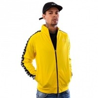 Kappa Banda Anniston Slim 301EFU0 Trainingsjas Yellow Mustard-Black