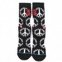 Afbeelding van Stance Increase The Peace M556A19ITP sokken Black