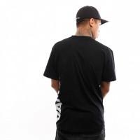 Afbeelding van Vans Vans Distorted Ss VA3HWUBLK T shirt Black