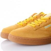Afbeelding van Reebok CLUB C 85 MU CN3867 Sneakers MC-BANANA/BLUE/GUM