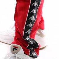 Afbeelding van Kappa 222 Banda Astoria Slim 301EFS0-C51 Trainingsbroek Red-Black-White