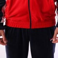 Afbeelding van Fila LM181LY9-A17 Jacket Oscar velour Blauw