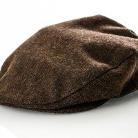 Brixton HOOLIGAN SNAP CAP 5 Flatcap DARK BROWN