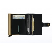 Afbeelding van Secrid MC-BLACK-GOLD Wallet Miniwallet crisple Black/Gold