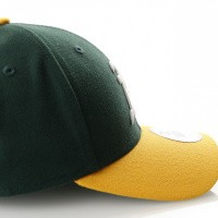 Afbeelding van New Era Ac Perf 5950 Oakland Athletics 70361054 Fitted Cap Offical Team Colour Mlb