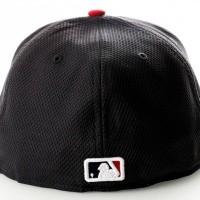 Afbeelding van New Era Diamond Era 21184488 Fitted Cap Blue/Red MLB Boston Red Sox