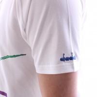Afbeelding van Diadora 502.172.653-C7304 Polo shirt Jc90s Jim Courier 91