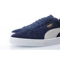 Afbeelding van Puma 356568-51 Sneakers Suede classic+ Blauw