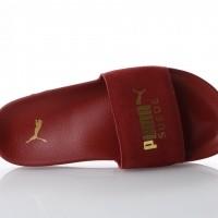 Puma 365758-04 Slide sandal Leadcat suede Rood
