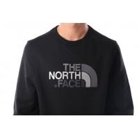 Afbeelding van The North Face T92ZWR-JK3 Crewneck Drew peak Tnf black