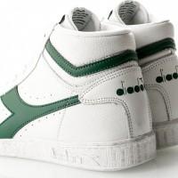 Afbeelding van Diadora Game L High Waxed 501159657 Sneakers White/Fogliage