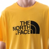 Afbeelding van The North Face T92TX3-70M T-shirt Easy Geel