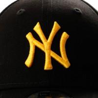 Afbeelding van New Era 9Forty Ne12023015 Dad Cap Black/Yellow New York Yankees
