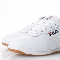 Afbeelding van Fila Ladies 5VF80172-150 Sneakers Original fitness suede Wit