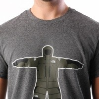 Afbeelding van The North Face M S/S NSE SERIES TEE T93L3GDYY T shirt TNF MEDIUM GREY HEATHER