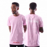 In Gold We Trust F*Ck You T-Shirt Fa-068 T Shirt Pink