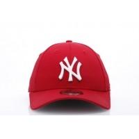 Afbeelding van New Era Kids 10877282 Dad cap 940 MLB league basic NY Yankees Rood