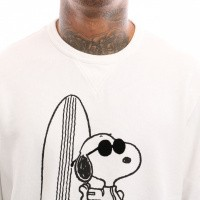 Afbeelding van Levi`s Graphic Crew B 17895-0072 Crewneck Peanuts Legit White