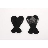 Afbeelding van Levi's Bodywear 973001001-884 Socks 168SF low rise vintage stripe 2-pack Zwart