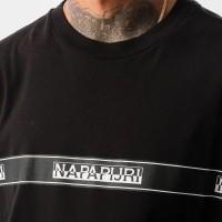 Afbeelding van Napapijri SAGAR N0YHUD041 T Shirt BLACK