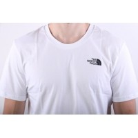 Afbeelding van The North Face T92TX5-FN4 T-shirt Simple dome Wit